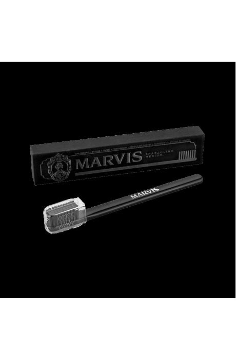 Zubna kefka marvis toothbrush medium cierna v obchode Beautydepot