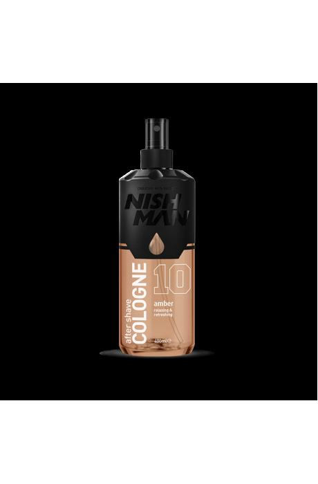 Nishman 10 Amber Voda po holení 400ml v obchode Beautydepot