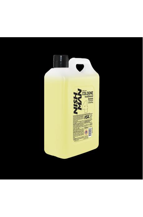 Nishman 4 Lemon Voda po holení 1000ml v obchode Beautydepot