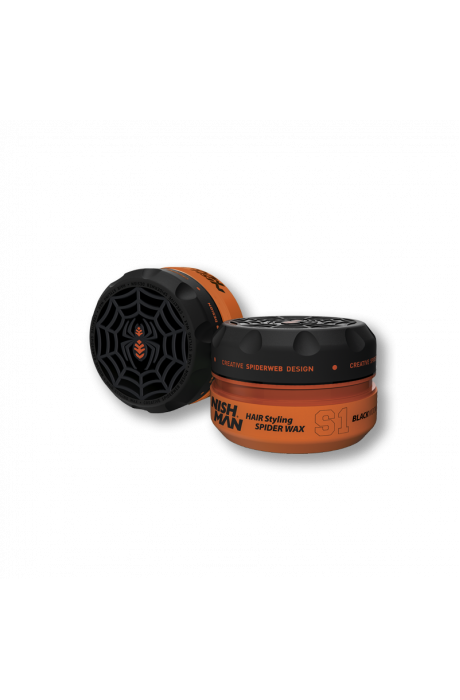 Nishman S1 Black Widow vosk na vlasy 100ml v obchode Beautydepot