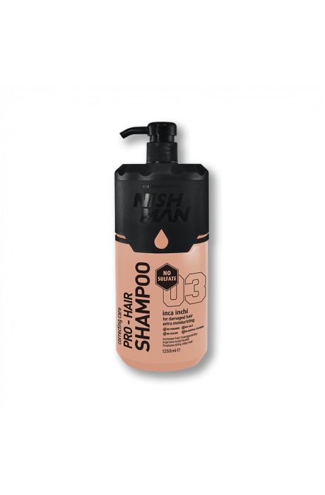 Nishman Inca Inci Pro Šampón na vlasy bez solí a parabénov 1250 ml v obchode Beautydepot