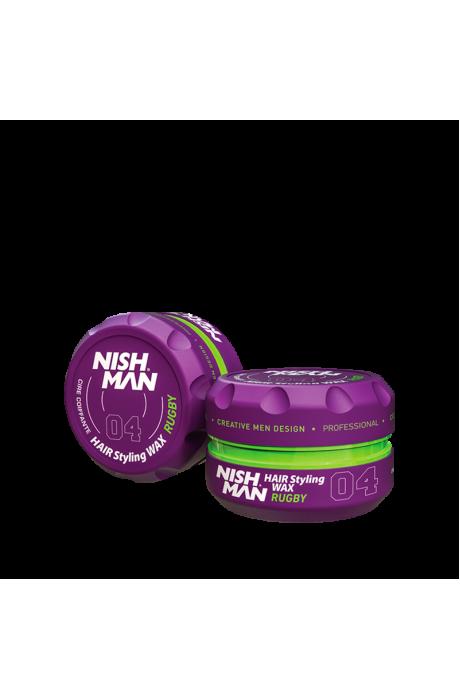 Nishman 04 Rugby Vosk na báze vody - tropické mango 100ml v obchode Beautydepot