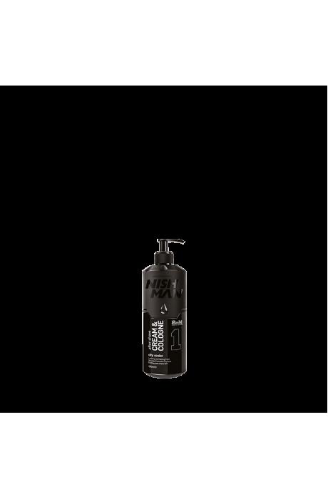 Nishman 1 City Senior Aftershave Hydratačný krém-kolínska po holení 2v1 200ml v obchode Beautydepot