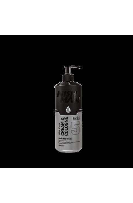 Nishman 5 Invictus Aftershave Hydratačný krém-kolínska po holení 2v1 400ml v obchode Beautydepot