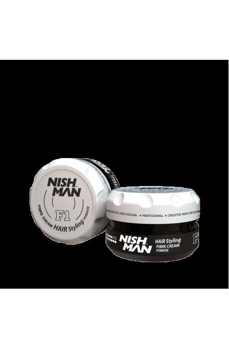 Nishman F1 Fibre cream krémova pomada 100g v obchode Beautydepot