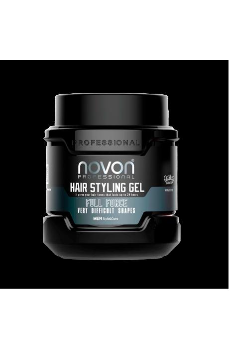 Novon hair gel full force vlasovy gel 700 ml v obchode Beautydepot