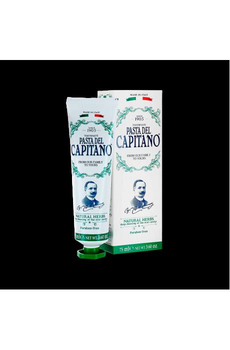 Pasta del capitano premium natural herbs v obchode Beautydepot